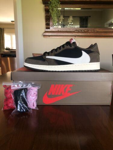 Nike Air Jordan 1 Travis Scott Low OG Size 10 VNDS