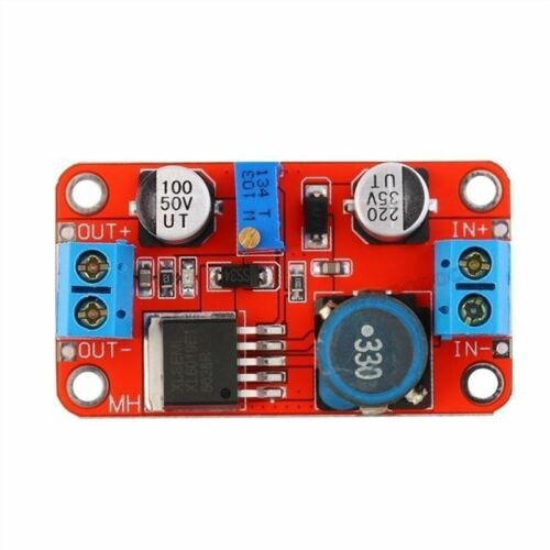 XL6019 5A Max Current Dc To Dc Adjustable Boost Power Supply Board Module ii