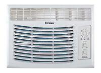 Haier 5100 Btu 115v Window-mounted Air Conditioner Ac W/manual Controls Hwf05xcp on sale