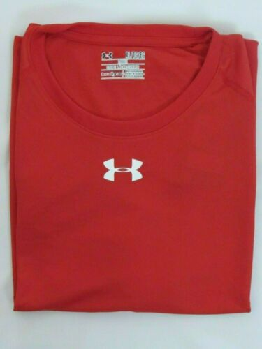 PICK SIZE /& COLOR NEW MEN'S UNDER ARMOUR HEAT GEAR S//S LOOSE FIT T-SHIRT