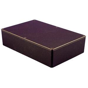 Hammond-Diecast-Aluminium-Enclosure-1550-Black-222x146x55mm-Project-Case-Box