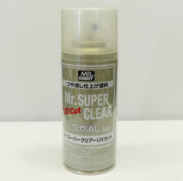 Gunze Sangyo/GSI Mr. Super Clear UV Cut Spray (Flat) 170ml