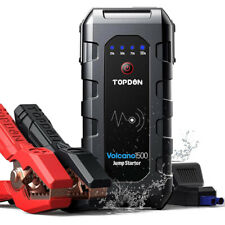 TOPDON Portable 12V Real 18000mAh 1500A Car Jump Starter Booster Power Bank AU