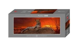 (HY29608) - Heye Puzzles - Panorama , 2000 Pc - Red Dawn