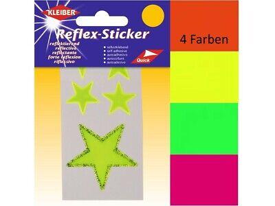 Reflex Sticker Aufkleber Punkte Biker Fahrrad Schule Schulranzen Taschen Koffer