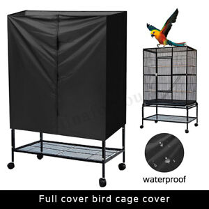Anti-mosquito-Bird-Cage-Cover-Good-Night-Large-Black-Blue-Breathable-170-380cm
