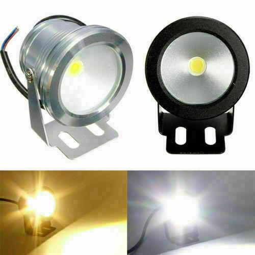 1//5//10pcs 10W Underwater Spot Light 12V LED Flood Wash Lamp Waterproof Bulb