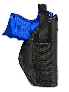 KAHR New Barsony OWB Gun Belt Loop Holster for HK FNX Compact Sub-Comp 9 40 45