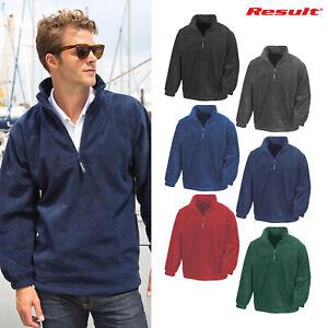 Result Mens Active Half Zip Fleece Jackets