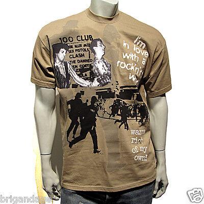 Clash punk joe strummer seditionist type tee S-3XL