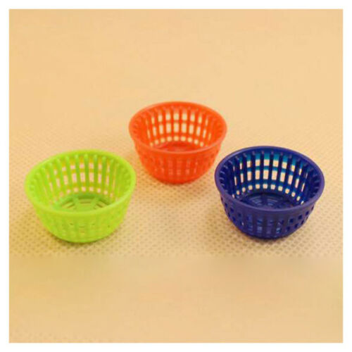 Scale 1:12 1 Miniature Dollhouse Oval Basket with 22 different Vegetables