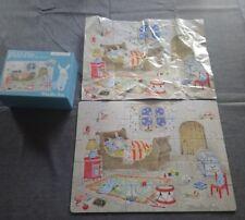 Moulin roty puzzle en bois Bedtime puzzle au dodo la grande famille 30 pièces