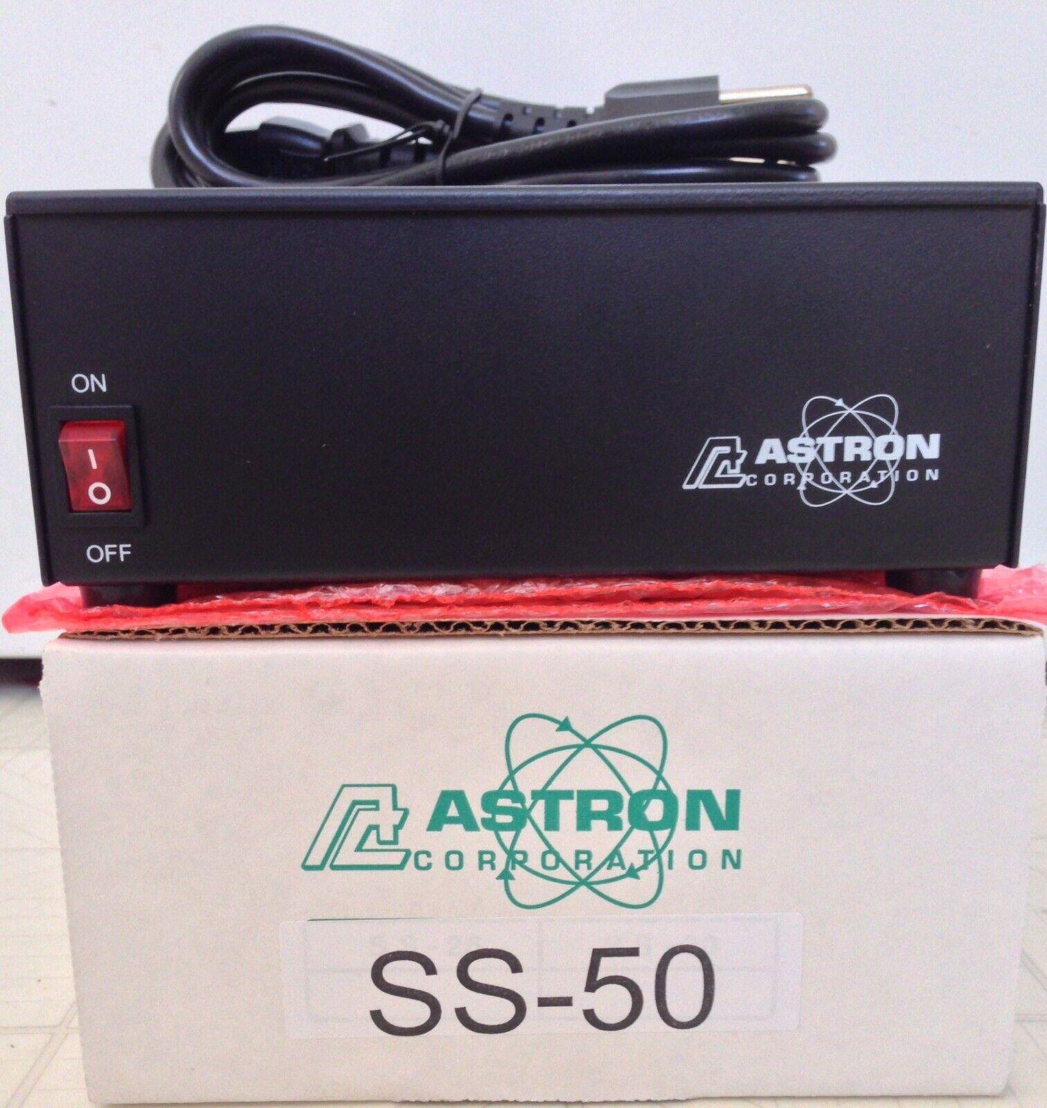 alexg168 ASTRON POWER SUPPLY SS-50. 13.8VDC 50A. BRAND NEW WITH WARRANTY