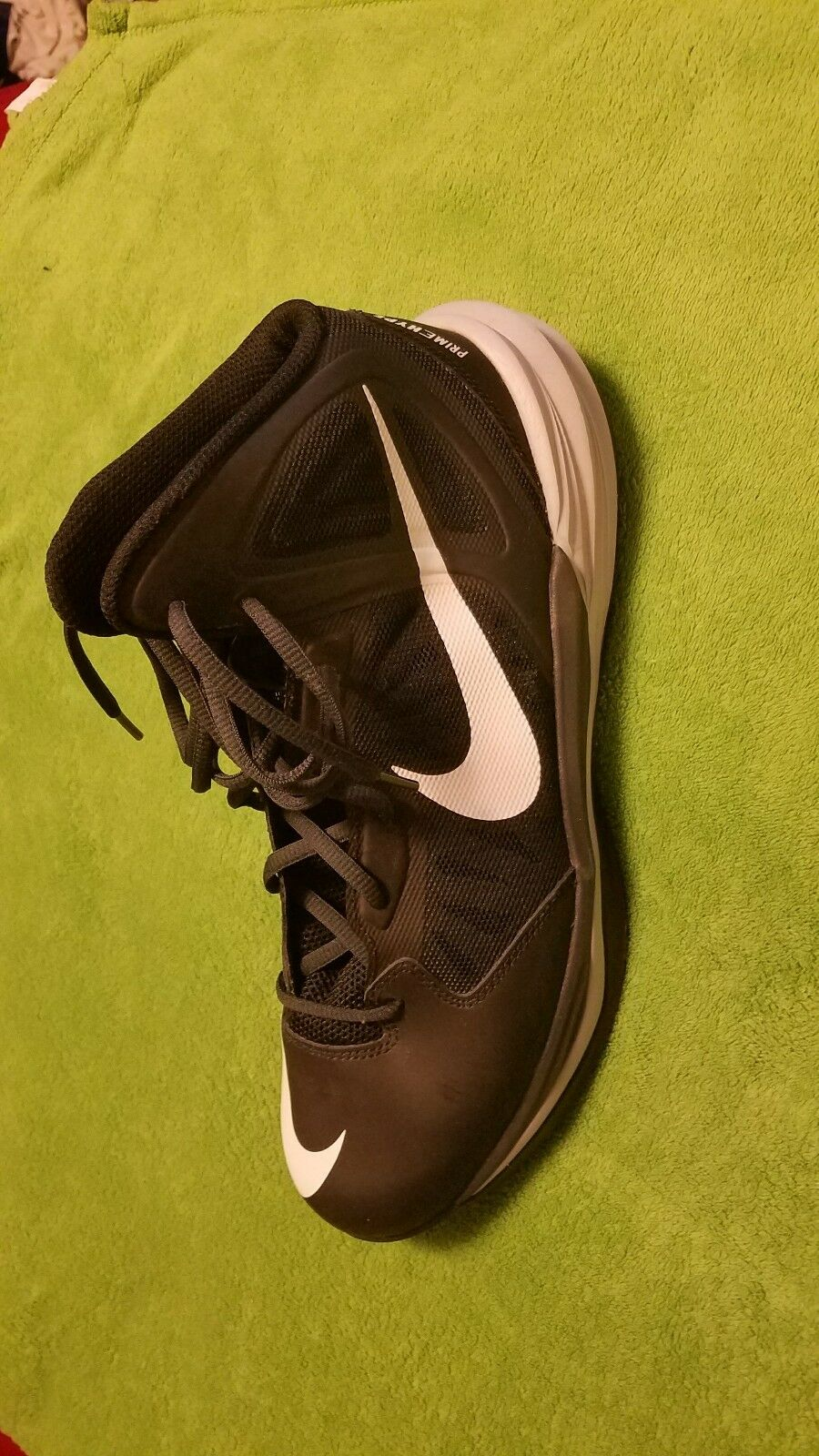 NEW Nike Basketball Mens Prime Hype DF Basketball Nike Shoes Size 11 Black/Grey/White MSRP cfb54a