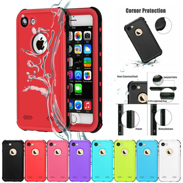 best authentic 38a9f b0904 Waterproof Case For iPhone SE 5 6S 7 8 X Plus Ultra-thin Dust-Proof  Snow-Proof