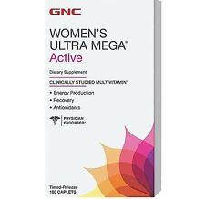 GNC Women's Ultra Mega Active Multivitamin - 180 Caplets