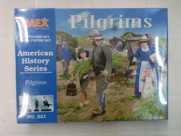 Imex Figurini 1/72 - American History Series - Pilgrims Domanda Che Supera L'Offerta
