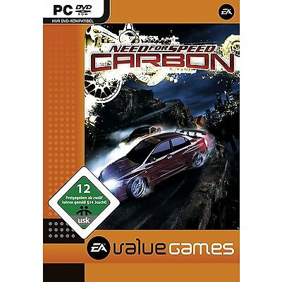 PC Computer Spiel ***** Need for Speed Carbon * NFS ****************** NEU * NEW