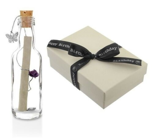 18th 21st Birthday Gifts for Daughter Friend Sister Message in a Bottle Gift