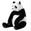 miniatura 18 - IKEA-PELUCHE-PANDA-SQUALO-CANE-ANIMALI-Natalizi-per-Bambini-Giocattolo-Peluche-Peluche