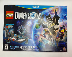 LEGO Dimensions Starter Pack Nintendo Wii U Brand New 71174 Sealed Christmas