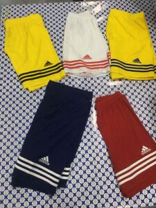 Bermuda-Adidas-Entrada-14-Uomo-Donna-3-Striscie-Climalite-Vari-Colori-F506