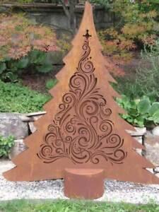 Weihnachtsbaum Metall.Details Zu Edelrost Tannenbaum Leander Led Weihnachtsbaum Metall Christbaum Weihnachtsdeko