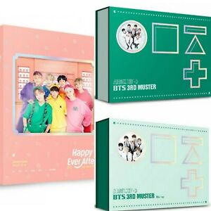 Details about BTS: DVD BLU-RAY: 3RD 4TH MUSTER ZIP- HAPPY EVER AFTER  (SELECT) [KPOPPIN USA]