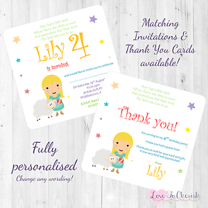 Image Is Loading Mary Had A Little Lamb Personalised INVITES THANK