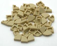 Lego 50 New Tan Tiles 2 x 4 Flat Smooth Pieces