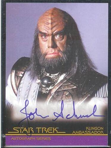Complete Star Trek Movies Auto A8 John Schuck