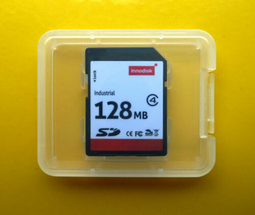 NUOVO SD 128mb innodisk Industrial 3.0 Secure Digital SLC Class 4 128 MB