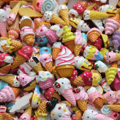 Crafts Wholesale Assorted Kawaii Desserts Sweets Food Cabochon Resin Flatback
