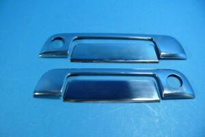 Chrome-Turgriffcover-for-BMW-E36-2trg-Z3-without-Radio-Remote-Control