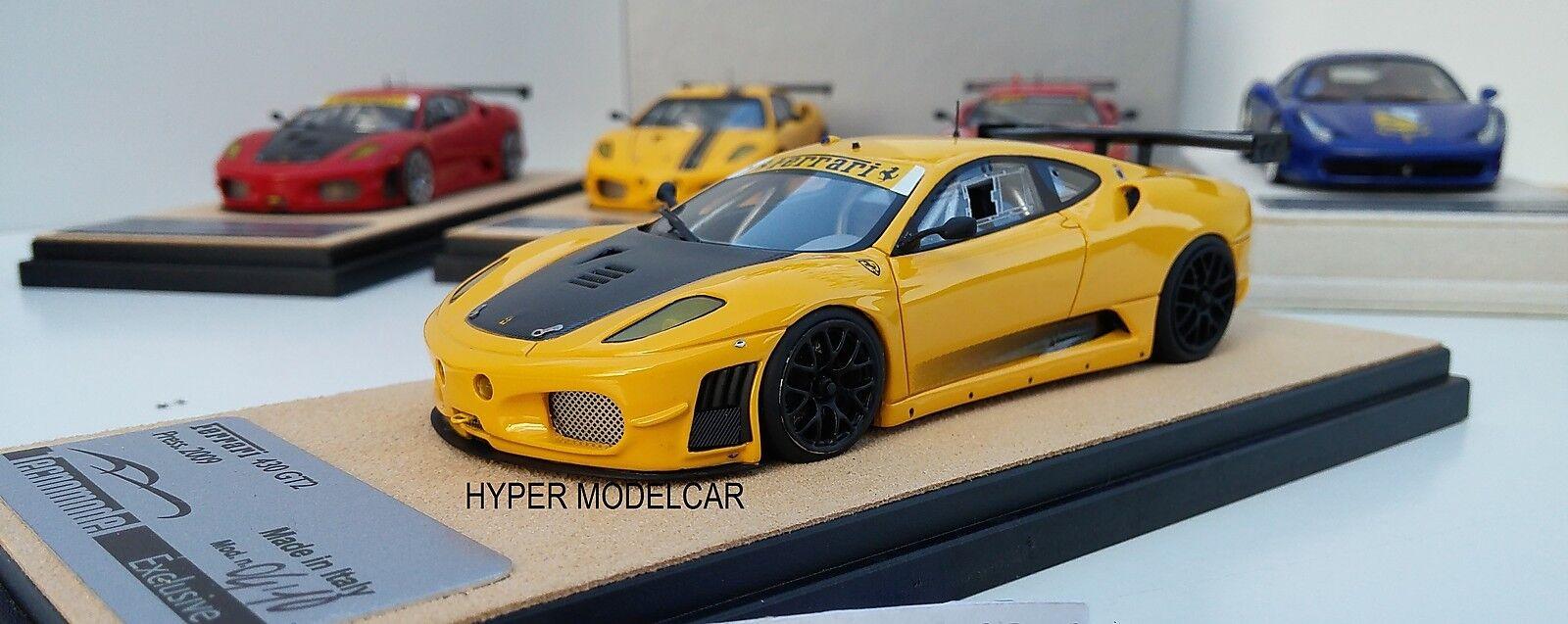 TECNOMODEL 1 43 Ferrari F430  GT2 2009 jaune Art.TM40A - no bbr