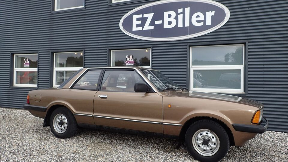 Ford Taunus 2,0 Benzin modelår 1980 km 175000 Brunmetal