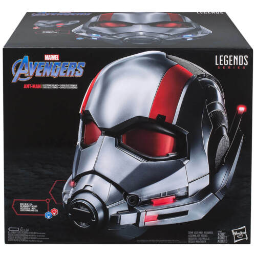 Hasbro Avengers Marvel Legends Series replica ANT-MAN A LED CASCO ELETTRONICO NUOVO