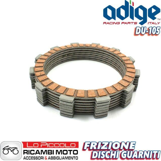 Set Discos Embrague Recortado Adige Originales Ducati Monster 600 1998 1999