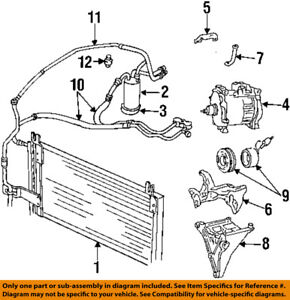details about dodge chrysler oem 1994 ram 2500 air conditioner a c ac drier 55035606 2005 dodge durango ac diagram dodge ac diagram #3