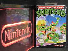 Nintendo NES Teenage Mutant Ninja Turtles New in Box Factory Sealed Near-Mint
