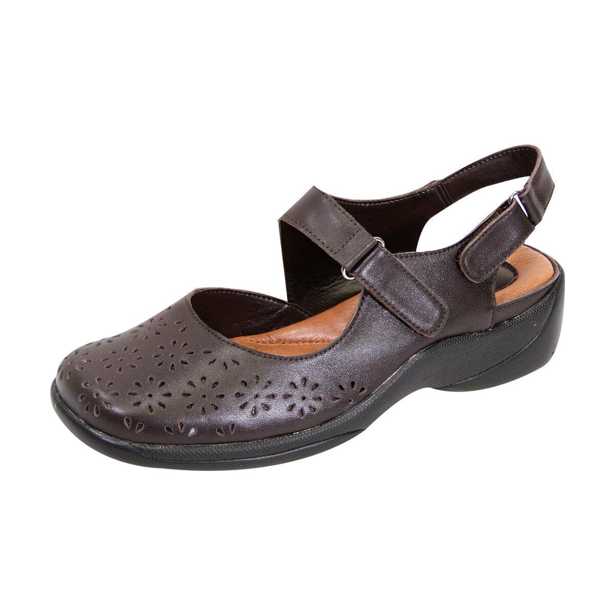 FIC PEERAGE PEERAGE FIC Kylie Donna Wide Width Pelle Comfort Sandal for Everyday 90d0d7