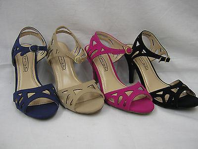 venta Damas Cortar Tribunal Zapatos Con Cierre De Hebilla 10173