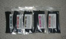 120 Pcs 5 Sizes Black Heat Shrink Tubing Kit 6 Long