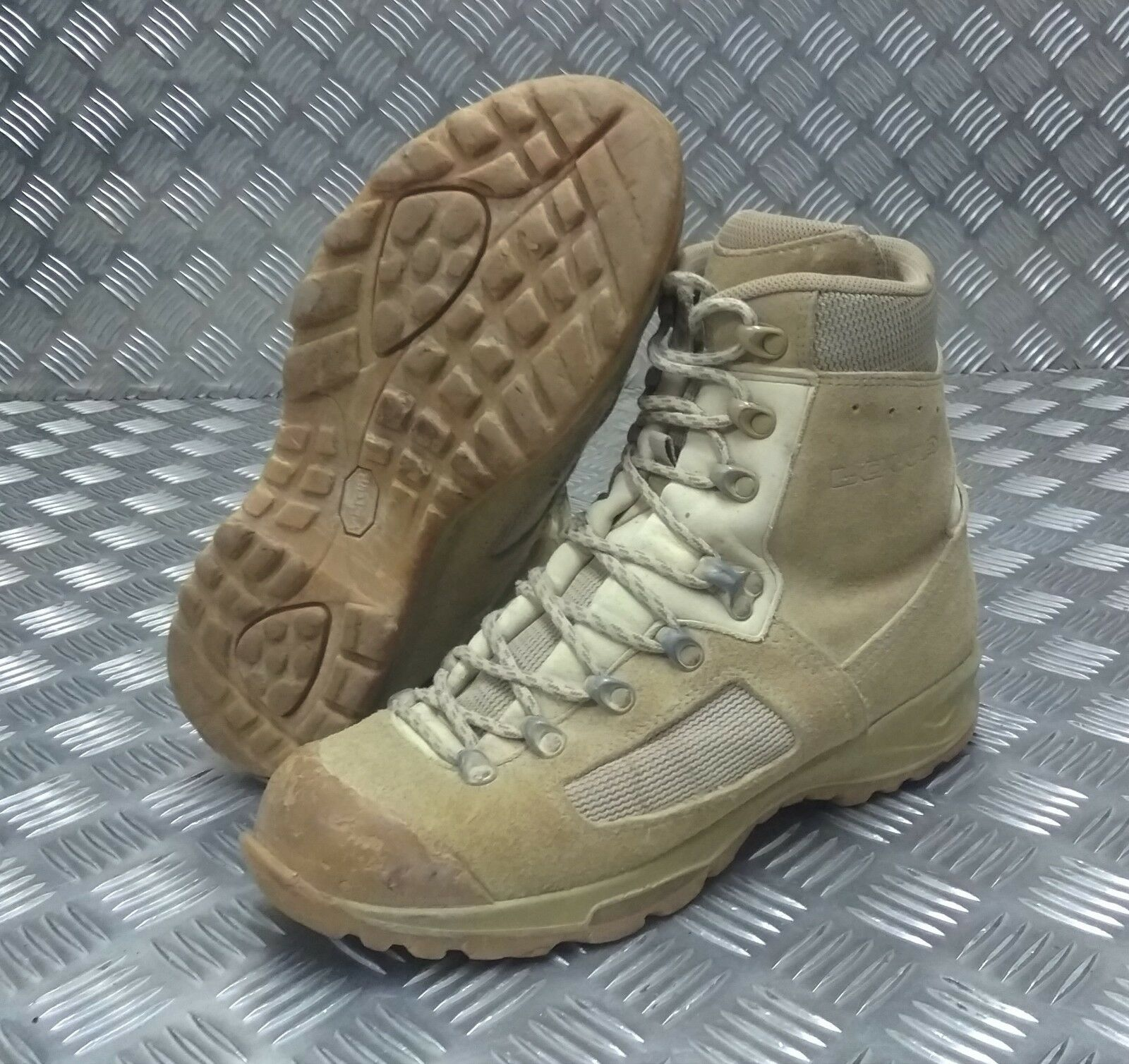 Genuine British Army Issue LOWA Elite MOD Desert Assault Combat Boot Grade 2