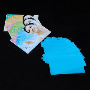 100-Sheets-Oil-Control-Absorption-Blotting-Facial-Paper-TISSUE-Skin-Care-FO