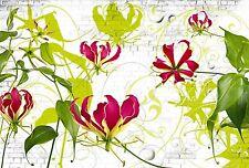GLORIOSA Photo Wallpaper Wall Mural FLOWERS NATURE 368x254cm (Komar)