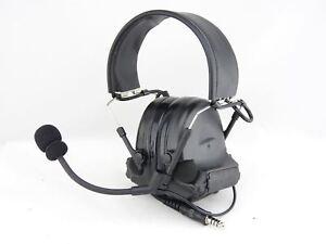 Airsoft Tomtac Comtac Ii 2 Headset Mic Boom Radio Peltor Design