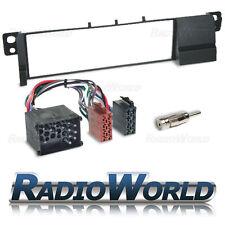 BMW 3 Series E46 Radio Fascia Panel Adapter Surround Plate Round Pin Fitting KIT
