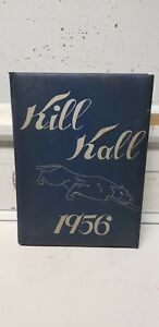 1956 and 1957 Wallkill High School Yearbook - Wallkill NY - original hard cover