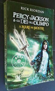 Percy Jackson e Gli Dei Dell'Olimpo IL MARE DEI MOSTRI, brossura Oscar MONDADORI